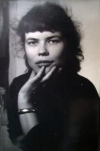 Kunststudentin in Düsseldorf, ca. 1952
